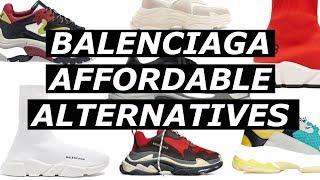 BALENCIAGA Affordable Alternatives | ASOS, Mennace, Budget, Option, Cheap Hypebeast Trend | Gallucks