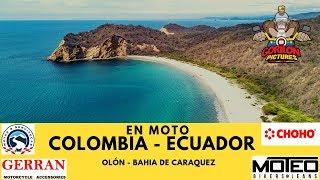 VIAJAR A ECUADOR EN MOTO OLÓN - BAHIA DE CARAQUEZ