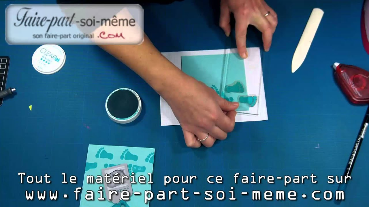 Faire part naissance antoine youtube - Maquillage facile a faire soi meme ...