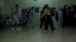 "Dancing Timberland ""Now drop"", Gigi Tores Dance 2xs routine"