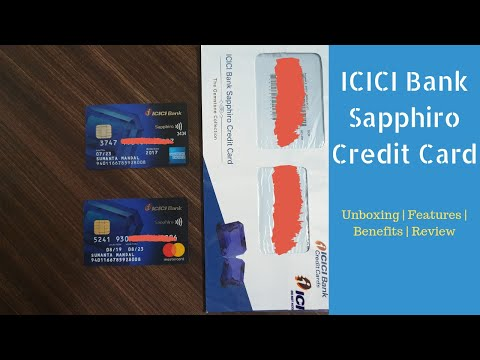 ICICI Bank Sapphiro Credit Card Unboxing Benefits Review | Really Worth ₹3500 ? 🔥🔥🔥