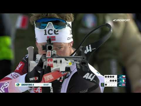 Норвегия выиграла смешанную эстафету на старте ЧМ