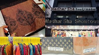 மதர் ஷா புடவை காலெக்ஷன்ஸ்// Madhar Sha Saree/Kurta Collections # Save Delta