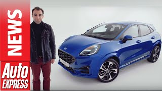 New Ford Puma 2020 revealed - yes, it's an SUV!