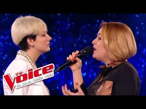 Richard Cocciante – Il Mio Rifugio | Elvya Gary VS Giuliana Danze | The Voice France 2015 | Battle