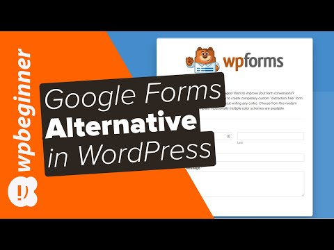 Best Google Forms Alternative for WordPress
