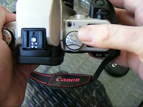 Canon Eos 50e 35mm Film SLR Review
