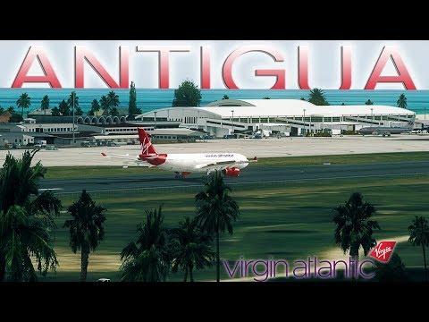FSX [HD] - Virgin Atlantic   Airbus A330-300   Hard landing in Antigua