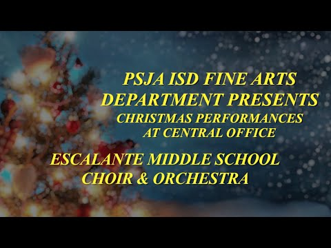 Escalante Middle School Christmas Concert Performance