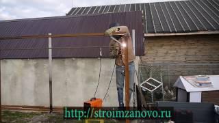 Ферма из профильной трубы(Ферма из профильной трубы своими руками., 2016-11-14T07:50:51.000Z)