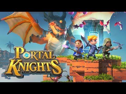 Portal Knights #01 - O início da aventura (PS4)