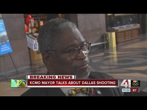 Mayor Sly James talks about Dallas shootings