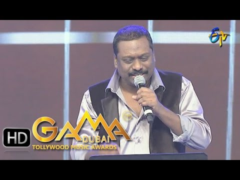 Pavu Thakkuva Thommidi Song - Jessy Gift Performance in ETV GAMA Music Awards 2015 - 13th March 2016