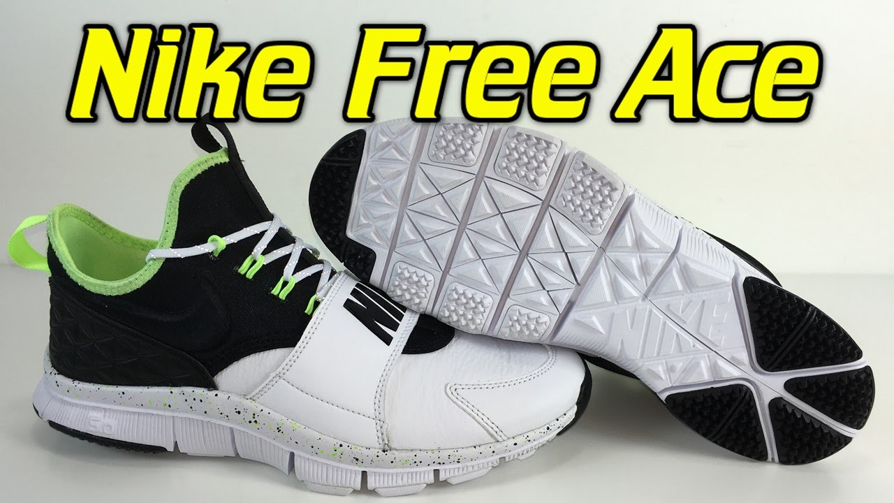 Nike Free Ace Leather White/Ghost Green/Black - Review + On Feet