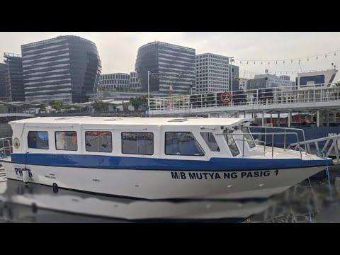 Pasig City New Ferries