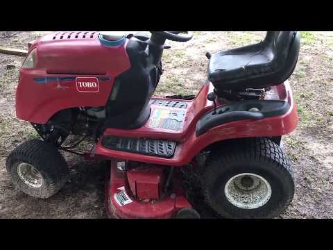 bolens 38 inch riding mower manual