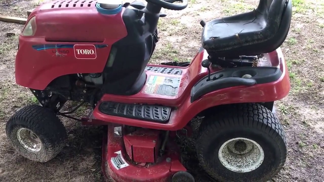 riding mower deck belt change toro lx460 [ 1280 x 720 Pixel ]
