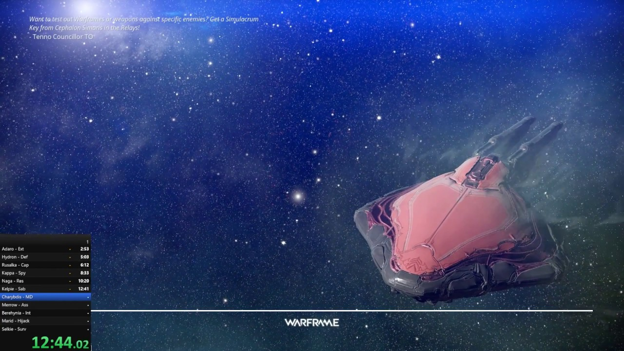 Warframe - Planets - Solo, Sedna in 35m 05s by Nusmag