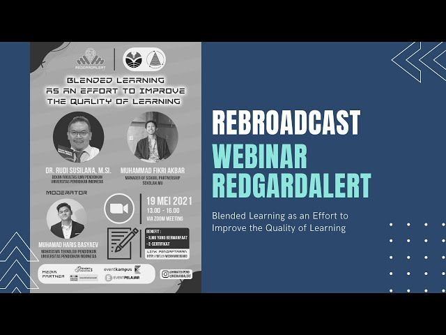 Rebroadcast Webinar REDGARD ALERT
