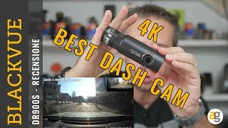 Recensione DASH CAMERA 4K CLOUD Blackvue DR900S