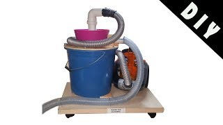 Building a Cyclone Dust Collector - DIY