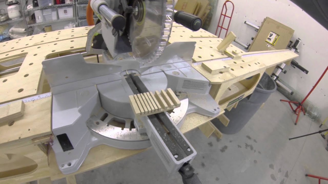 Easy dado with a miter saw youtube easy dado with a miter saw greentooth Gallery