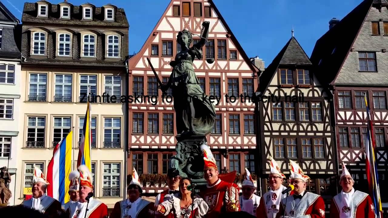 Fasching In Frankfurt