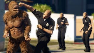 BIGFOOT SPOTTED IN THE CITY! | GTA 5 RP / Roleplay