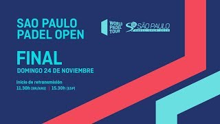 Finales - São Paulo Padel Open 2019 - World Padel Tour