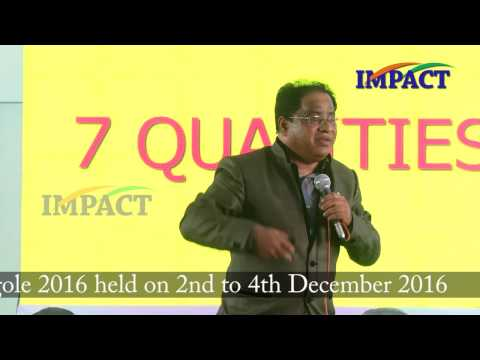 Your challenge is your weapon Venugopal Laxmipuram at IMPACT Ongole  2016