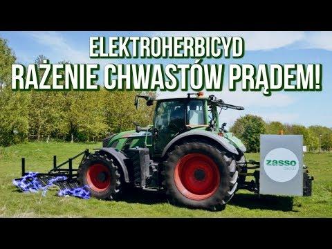 RAŻENIE CHWASTÓW PRĄDEM - Elektroherbicyd Zasso Electro Herb [Matheo780]