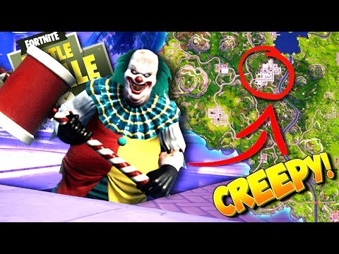 CREEPY CLOWN FOUND In Fortnite Sewers: Battle Royale!