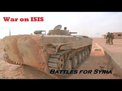 War on ISIS | Road to Abu Kamal | November 2017 (by Anna News)
