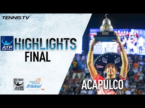 Highlights: Del Potro Beats Anderson For 2018 Acapulco Title