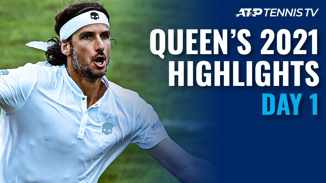 Lopez Returns; Sinner and Norrie in Action | Queen's 2021 Highlights Day 1