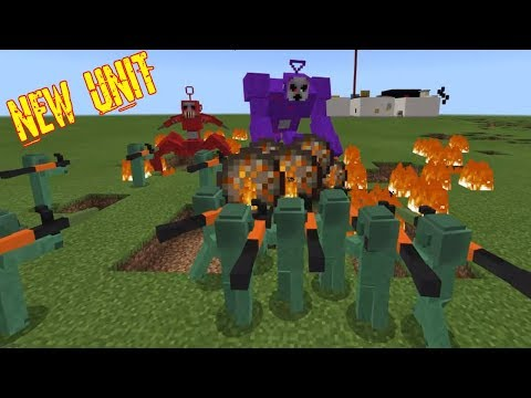 SlendyTubbies UPDATE NEW UNIT Miles With RPG (Minecraft PE)