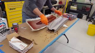 Releasing fiberglass mold from a plug, with a few tips along the way from M5 Performance Hydroplanes