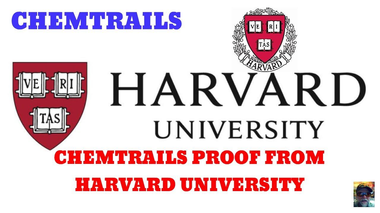 HARVARD UNIVERSITY:  CHEMTRAILS PROOF