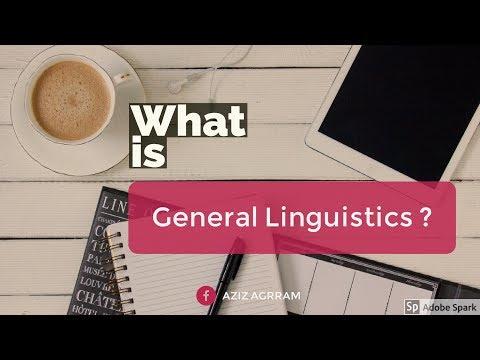 general linguistics ?