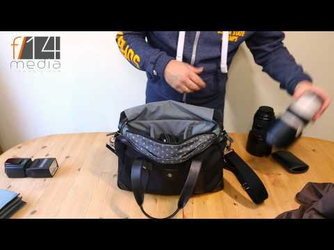 Barber Shop Bags, Bob Cut Photography Messenger Bag Review