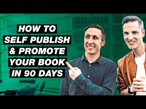 How to Self Publish a Book and Promote it on YouTube