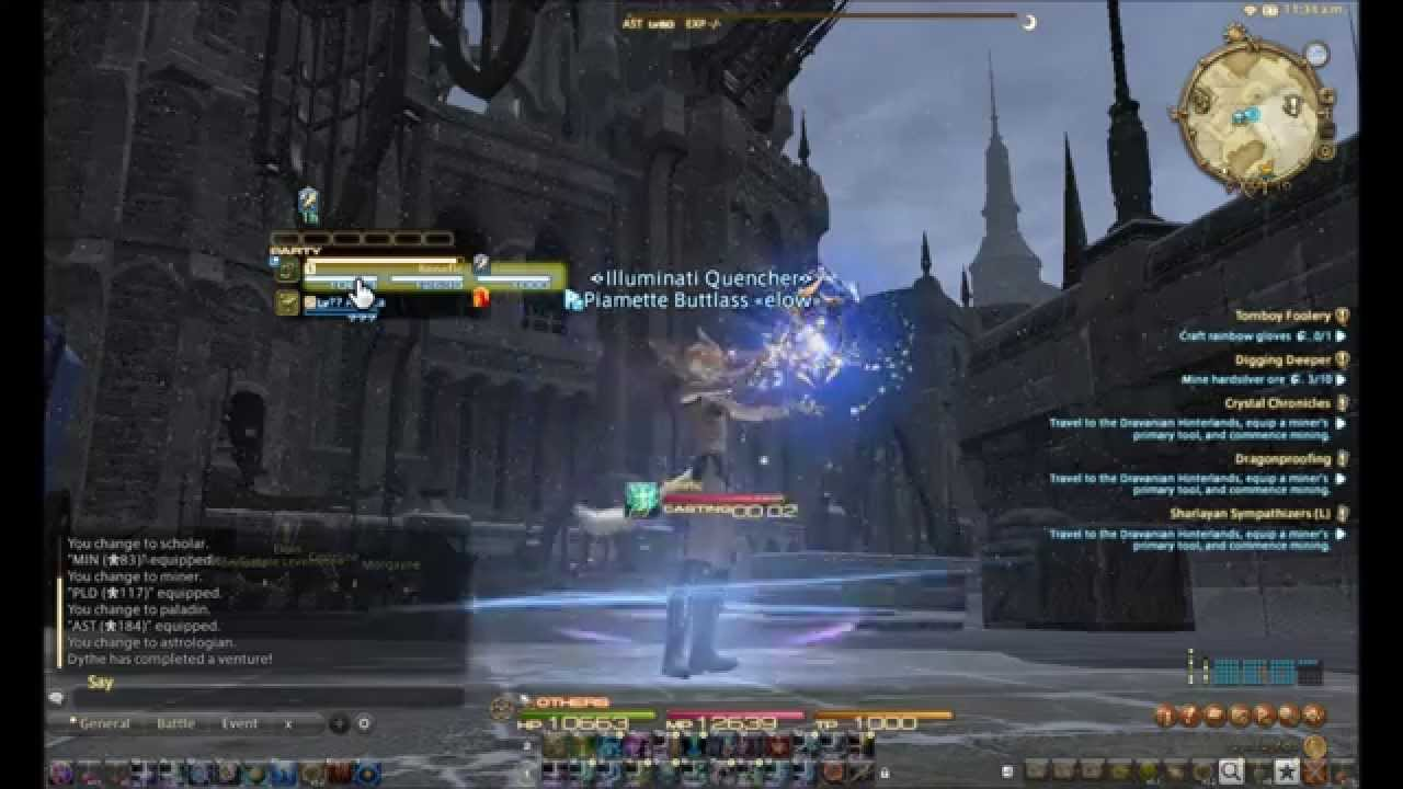 FFXIV Mouseover Macros for Healing