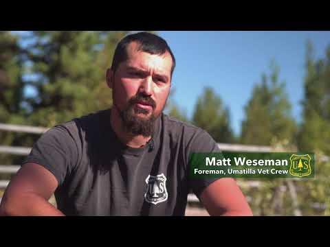 Umatilla National Forest Veteran Crew Promotion