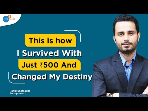 Become Rich: The Only Way To Become Rich & Successful | Rahul Bhatnagar | Josh Talks