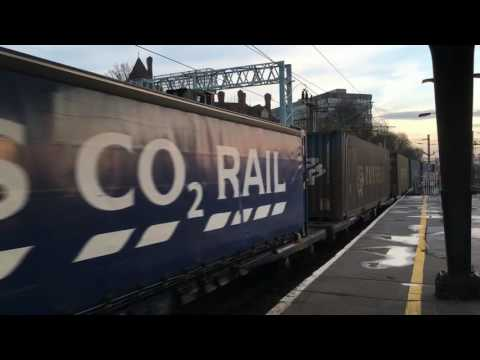 Preston - Freight Variety - 14th December 2016