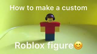 How to make a custom lego ROBLOX figure❗️