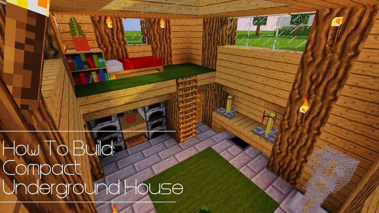 How To Build Compact Underground House  YouTube