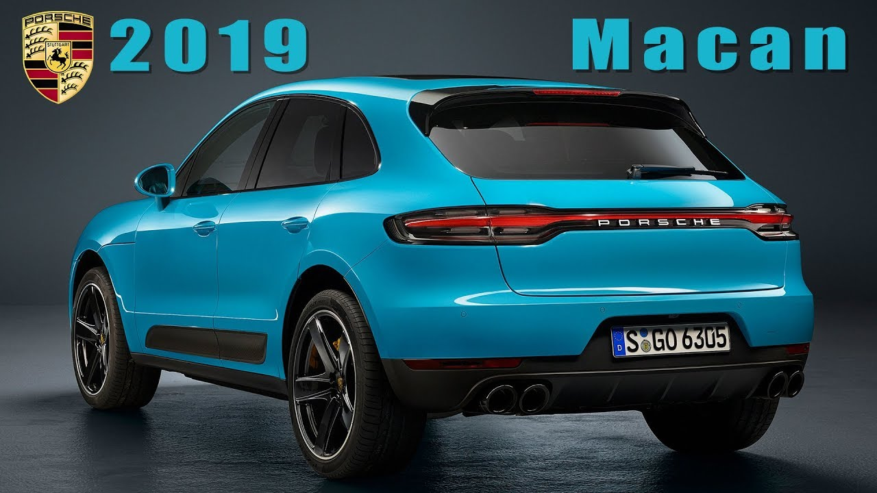 Porsche Macan 2019 Facelift In Every Detail Youtube