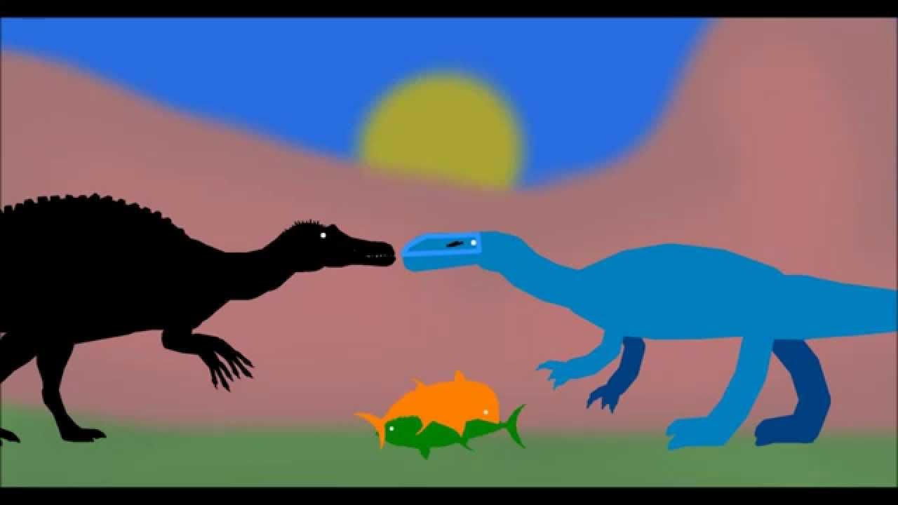 Pdw Spinosaurus Vs Suchomimus Vs Ostafrikasaurus Vs