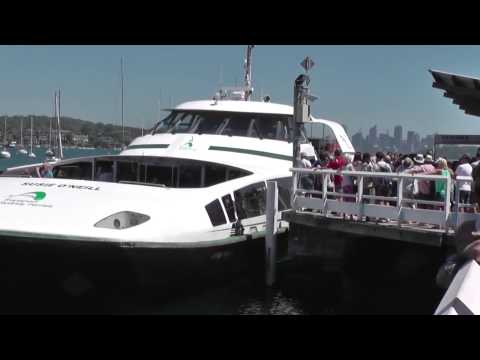 Scenes of Sydney: Watsons Bay Ferry